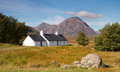 Black Rock Cottage and Buachaille Etive Mor Glencoe 10th September 2014