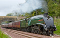 Union of South Africa Steam Train on Borders Railway 23rd Sept 2015