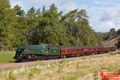 Union of South Africa Steam Train on Borders Railway 24th Sept 2015