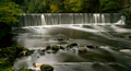 River Almond Waterfall at Cramond - 27th Sept 2013