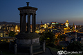 Edinburgh city skyline from Calton Hill 15th August 2017