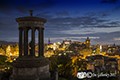Edinburgh city skyline from Calton Hill 23rd August 2017