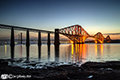 Forth Bridge by night  6th June2018