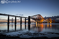 Forth Bridge by night  8th April  2018