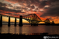 Forth Bridge sunset 16th July 2018