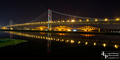 Forth Bridges at Night  - 28th  February 2016