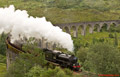 Glenfinnan Viaduct - Jacobite Steam Train Aug 2015