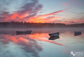 Sunrise at Loch Rusky - 16th October 2015