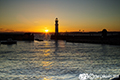 Newhaven Harbour sunset 21st June 2018