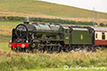 Royal Scot 46100 Steam Train on Borders Railway 7th August 2016