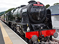 Royal Scot 46100 Steam Train on Borders Railway 14th August 2016