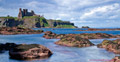 Seacliff Beach, Tantallon Castle & The Bass Rock