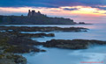 Tantallon Castle Sunset from Seacliff 1st July  2014