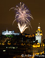 Edinburgh Military Tattoo Fireworks 4th August 2016