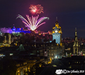 Edinburgh Military Tattoo Fireworks 6th  August 2018
