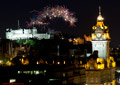 Edinburgh Military Tattoo Fireworks 7th August 2015