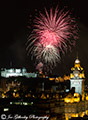 Edinburgh Military Tattoo Fireworks 9th August 2016
