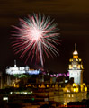 Edinburgh Military Tattoo Fireworks 15th August 2014