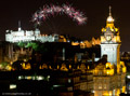 Edinburgh Military Tattoo Fireworks 15th August 2015