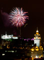 Edinburgh Military Tattoo Fireworks 19th August 2014