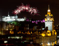Edinburgh Military Tattoo Fireworks 23rd Aug 2014 latesr extended performance