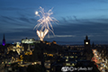 Edinburgh Military Tattoo Early performance Fireworks 26th August 2017