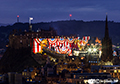 Edinburgh Military Tattoo Lightshow 15th  August 2018