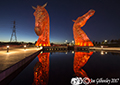 The Kelpies by Night 29th October 2017